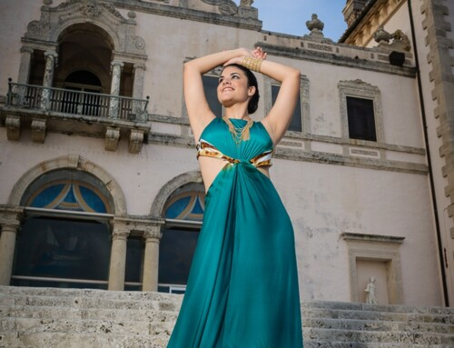 Vizcaya and Beach Quinceanera Photography