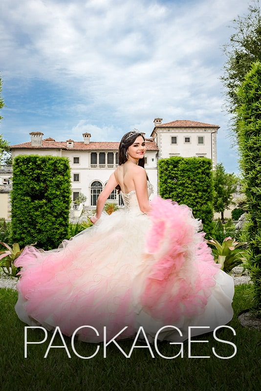 quinceanera photo packages